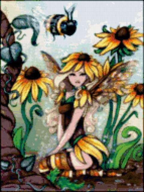 Фея пчел, предпросмотр