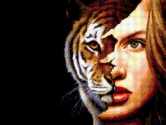 Tiger ft. lady,
