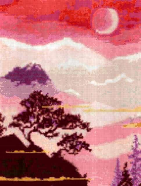 Триптих в японском стиле 2