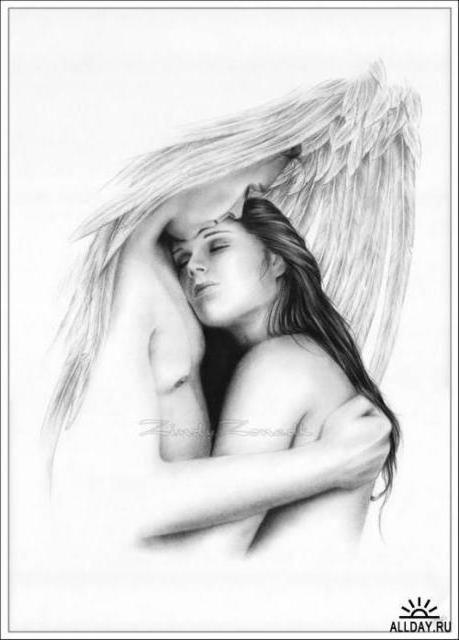 Под крылом ангела, оригинал