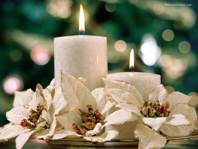 Новогодние свечи, оригинал