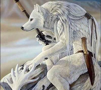 Волк-воин, оригинал