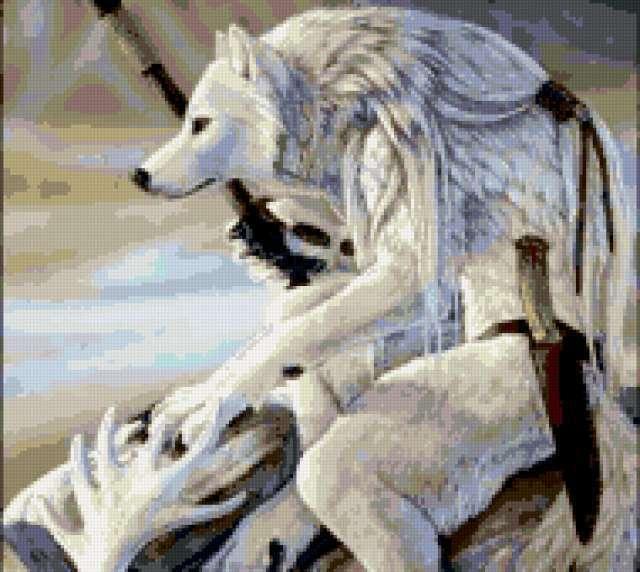 Волк-воин, фентези
