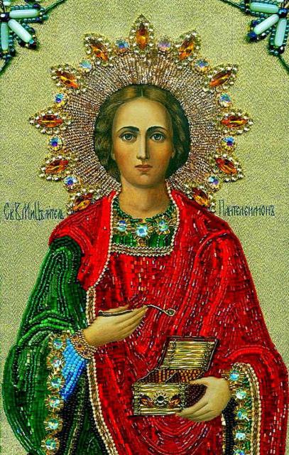 Св.Пантелеймон, иконы