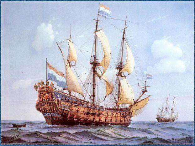 Cornelis de Vries - Парусники,