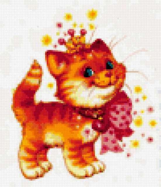Рыжий котёнок, предпросмотр