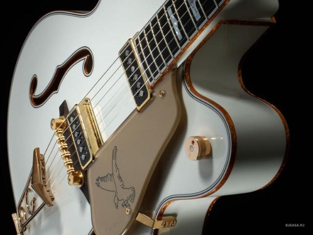 Схема вышивки огненная гитара