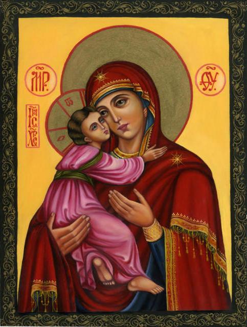 Богородица, оригинал