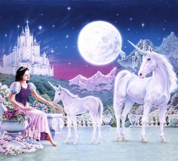 Принцесса и единороги