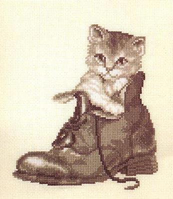Кот в ботинке, оригинал