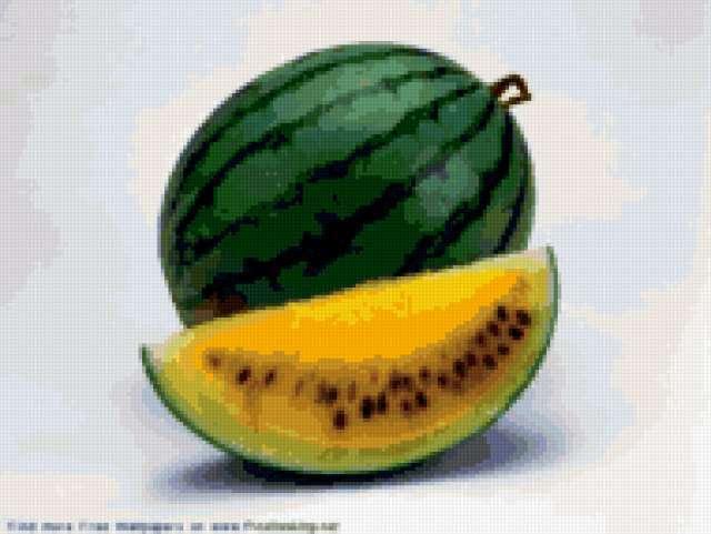 Желтый арбуз, предпросмотр