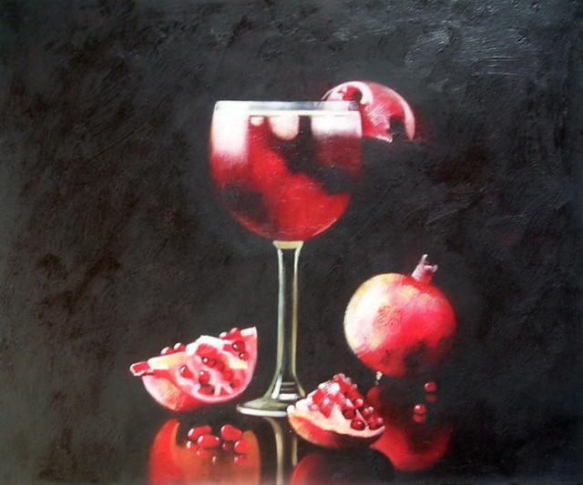 Вино и гранат, оригинал