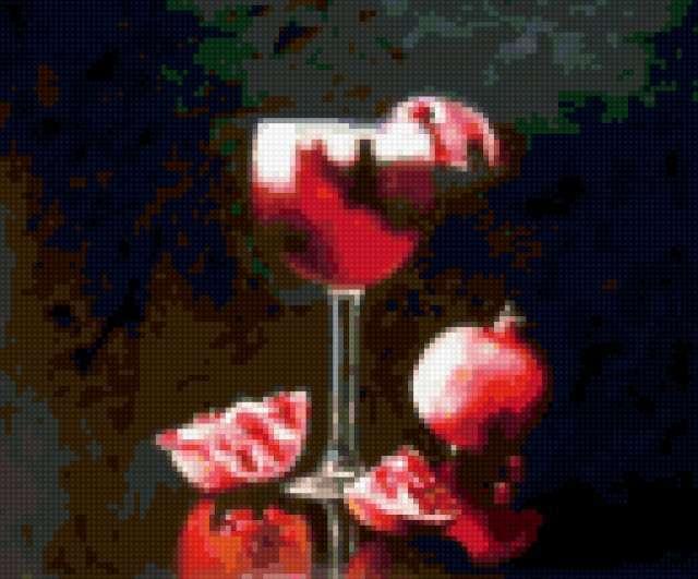 Вино и гранат, предпросмотр