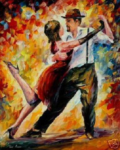 Танго, танго, танец, двое,