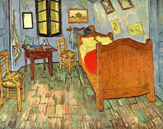 Спальня ван Гога, оригинал