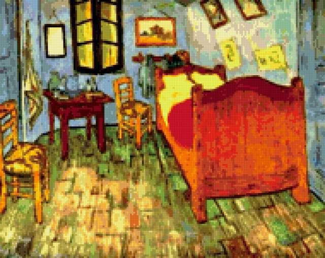 Спальня ван Гога, предпросмотр