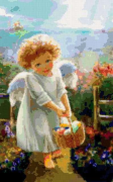 Ангельская девочка