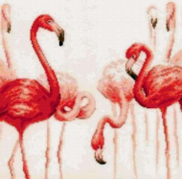 "Триплекс ""розовый фламинго"" 2,"