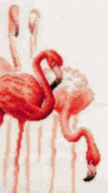 "Триплекс ""розовый фламинго"" 3,"