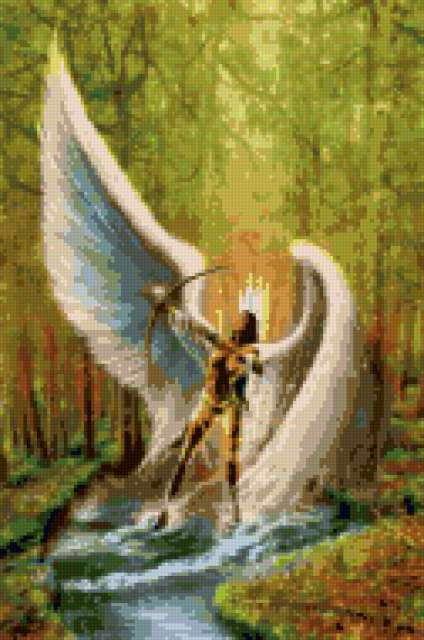 Стрелец - ангел, предпросмотр