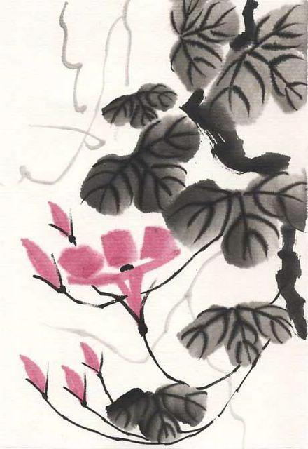 Китайская живопись, оригинал