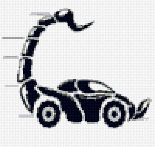 Машинка-скорпион, предпросмотр
