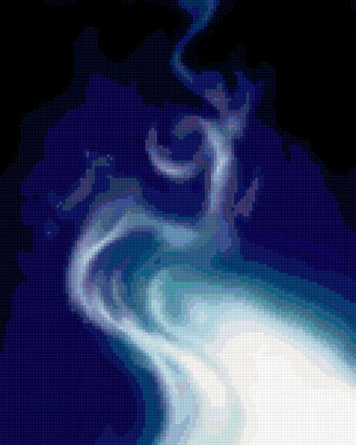 Синий дым,