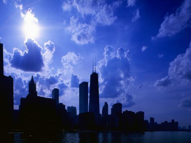 Небо Нью-Йорка, небо, нью-йорк