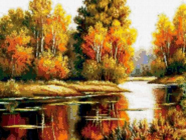 Осень золотая, предпросмотр