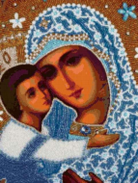 Владимирская божья матерь
