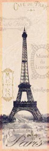 Схемы вышивки крестом эйфелева башня схема