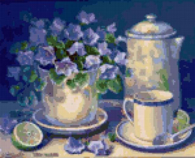 Чаепитие, предпросмотр