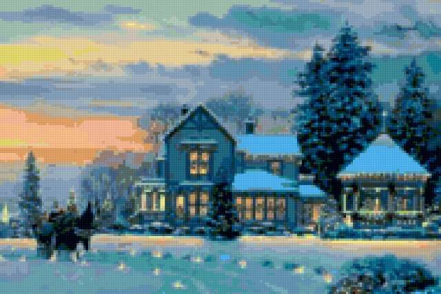 Зимние праздники, предпросмотр
