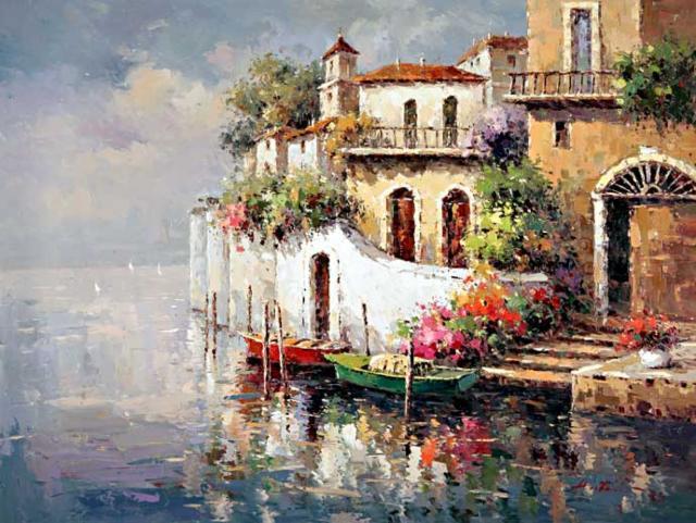 Окраина Венеции, оригинал