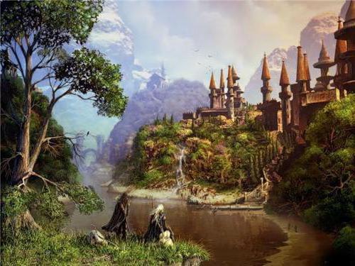 Волшебный замок, оригинал