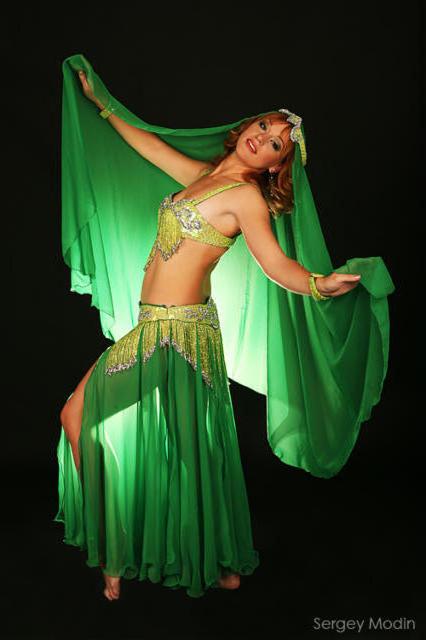 Восточные танцы, оригинал