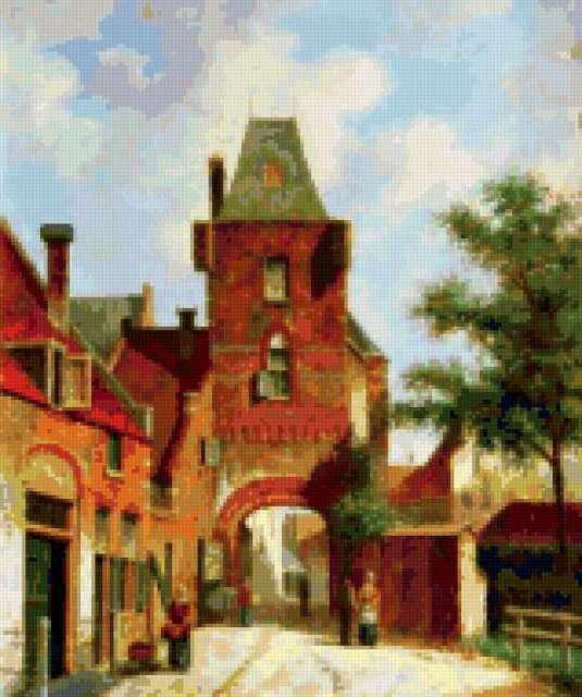 Голландия, архитектура