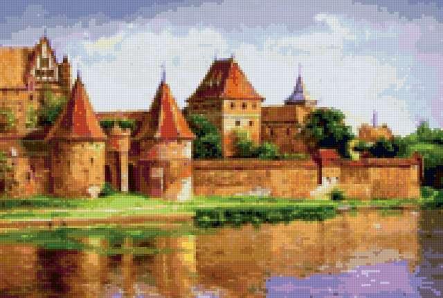 Старинный замок, предпросмотр