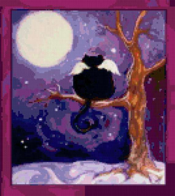 Приключения черного кота(4),