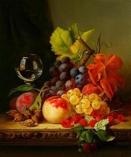 Натюрморт с фруктами Э.Лиделл,