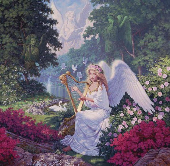 Райский сад, оригинал