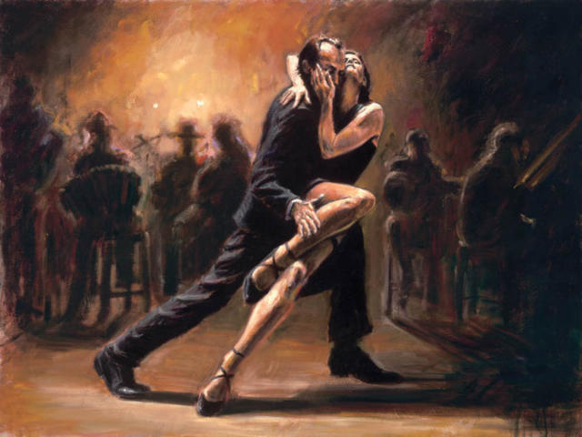 Вышивка танго крестом