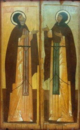 Петр и феврония, иконы