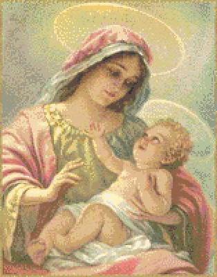 Мадонна с младенцем, оригинал