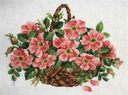 Цветы в корзине, букет