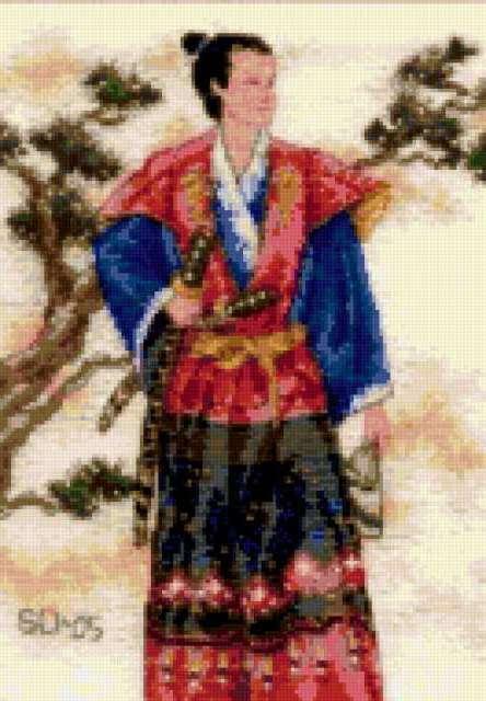 Самурай, восток