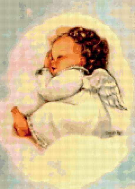 Спящий ангелочек, предпросмотр