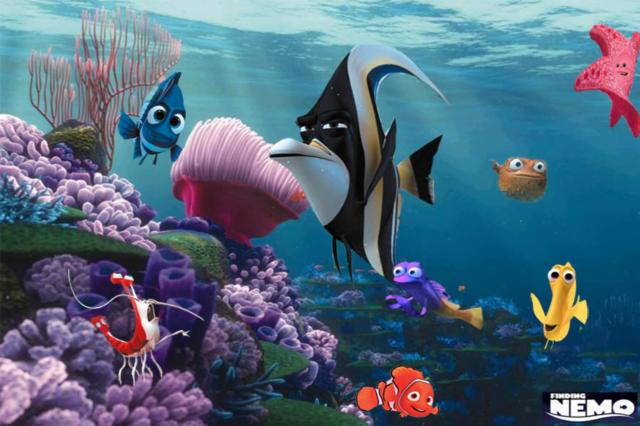 Подводный мир. Немо, оригинал