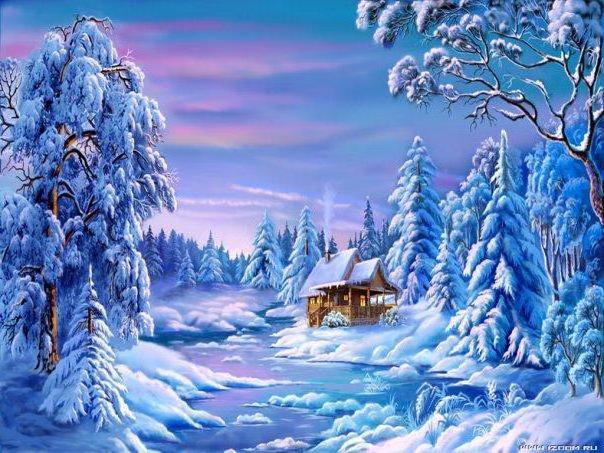 Зима, зима, природа