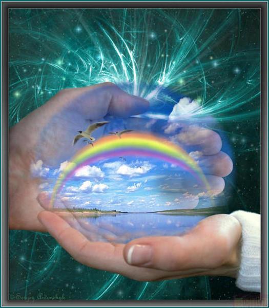 Радуга в добрых руках, радуга